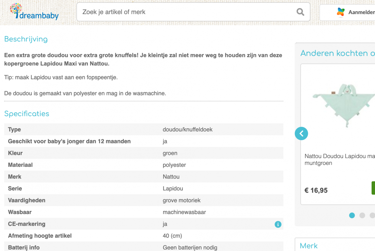 productomschrijving webshop seo